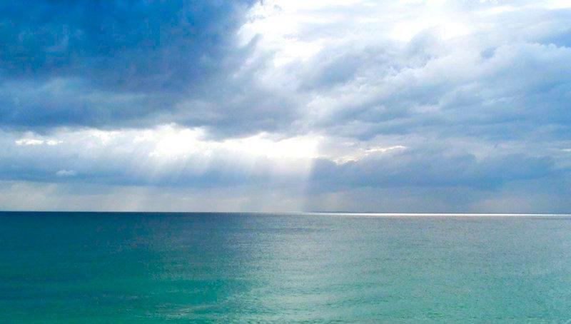 De la couleur de la mer est donc essentiellement différente de