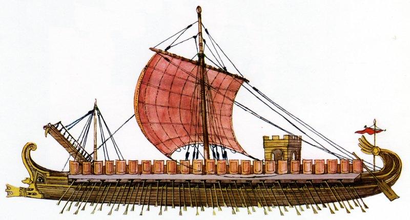 bateau galere