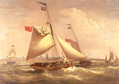 bateau xviiie siecle