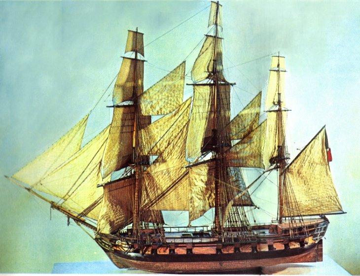 bateau xviii