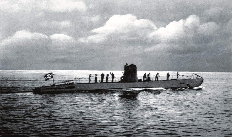 Un Sous Marin Allemand Ou U Boot De La Seconde Guerre Mondiale ...