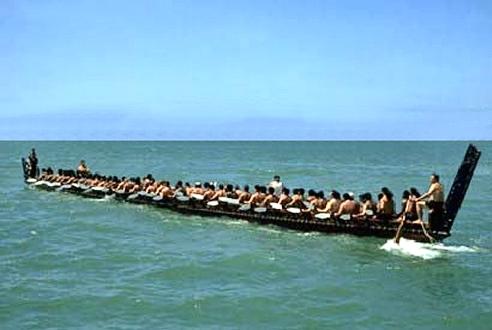 canoe waka nouvelle zelande